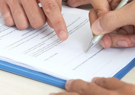 Cégalapítás - aláírás minta